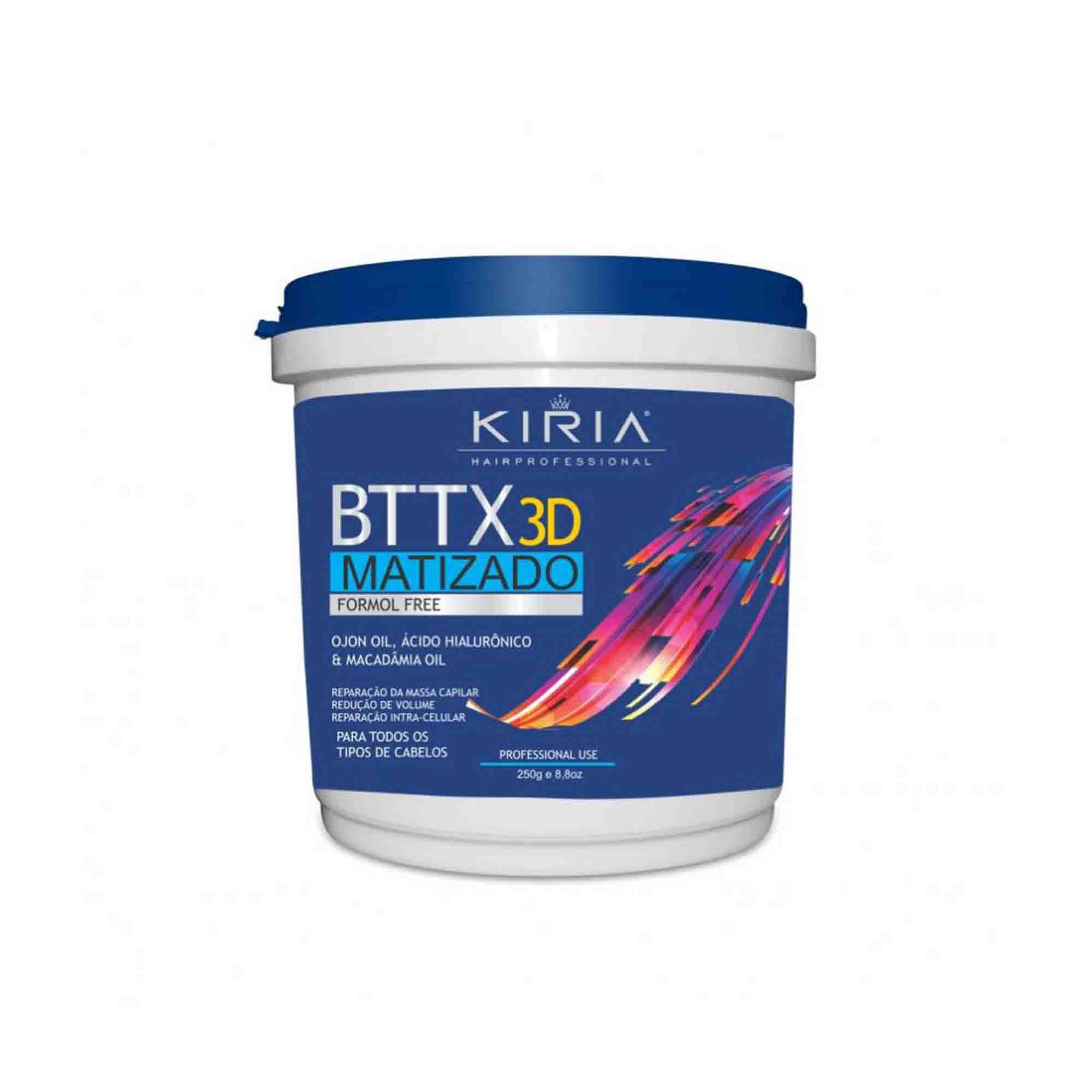 BTTX 3D ADVANCE MATIZADO FORMOL FREE - 250G