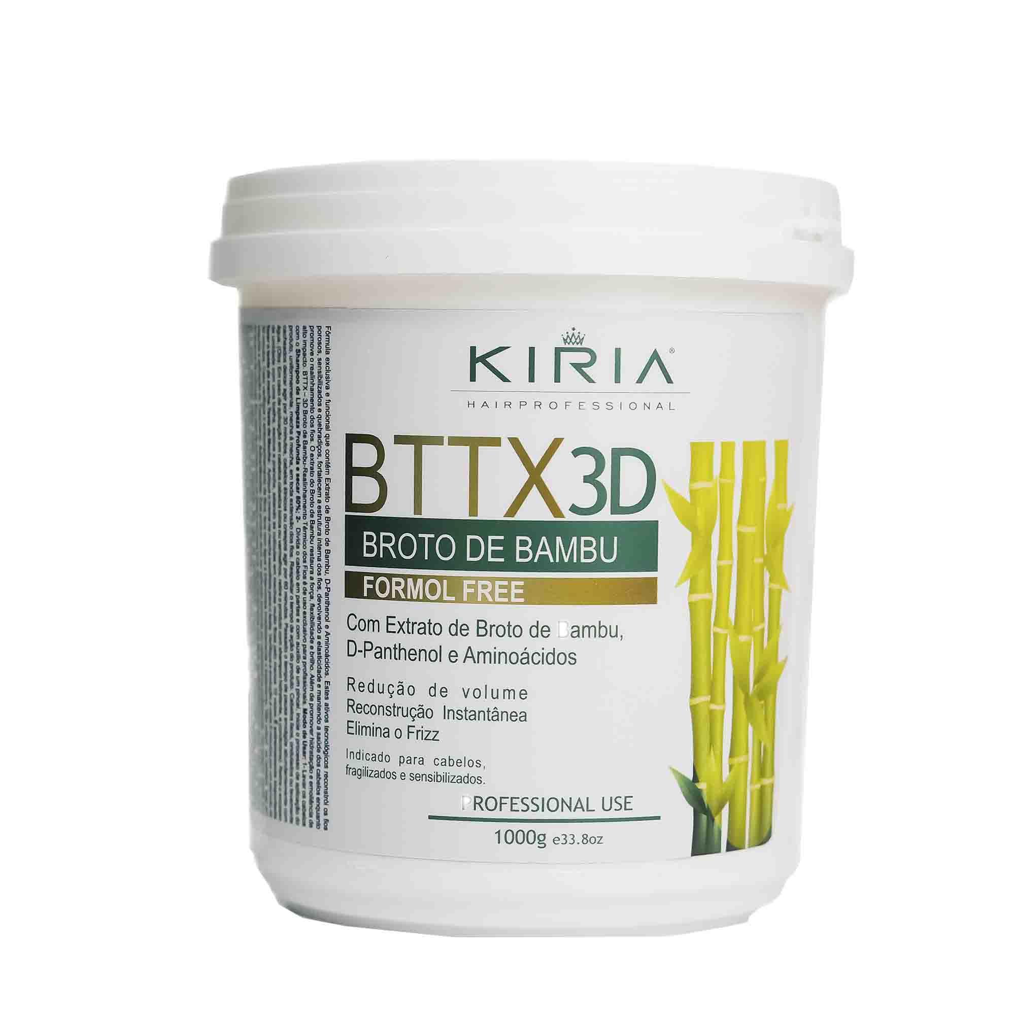 BTTX 3D BROTO DE BAMBU FORMOL FREE - 1000G