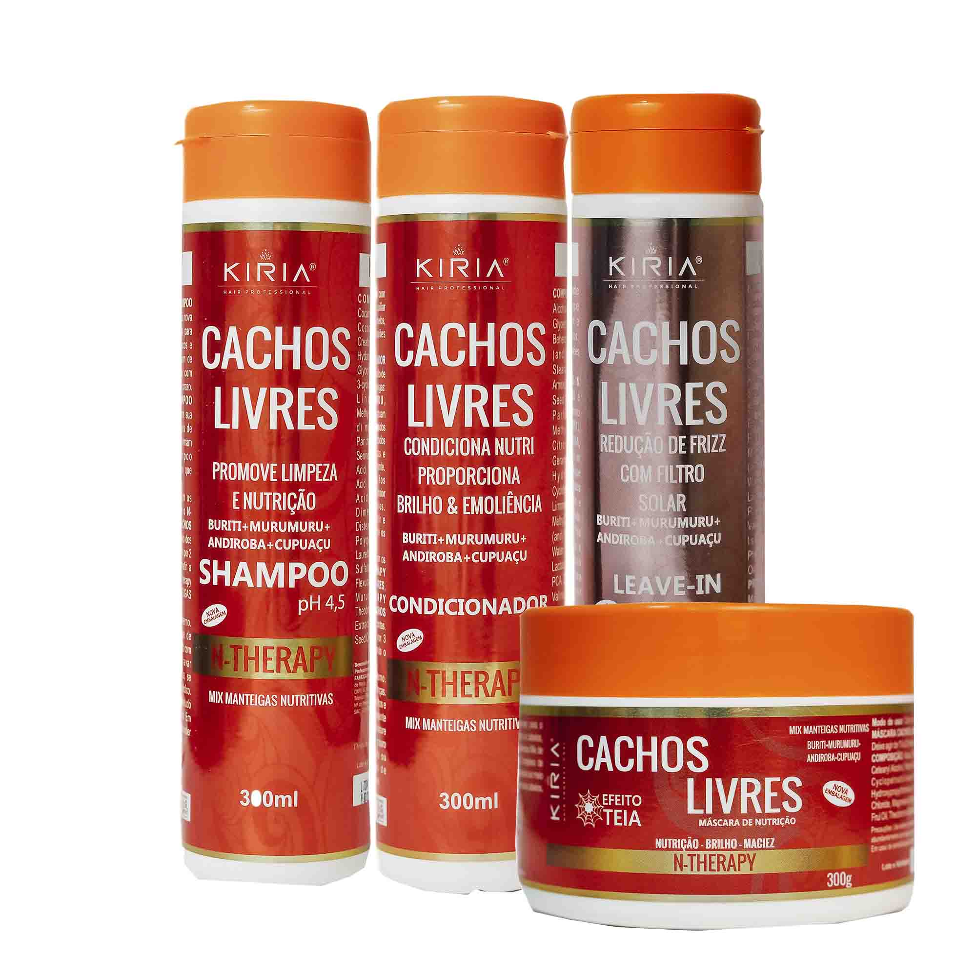 KIT N-THERAPY CACHOS LIVRES