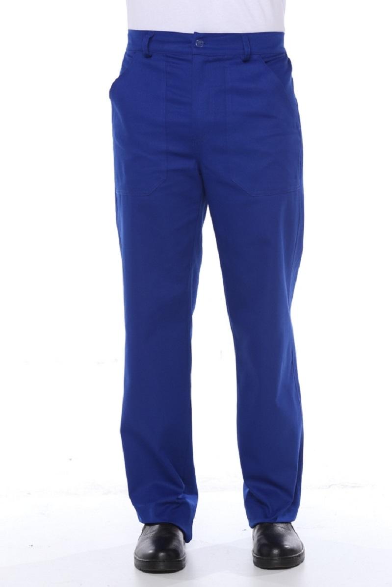 Calça Brim Masculina 1/2 elastico Royal - Uniforme Operacional