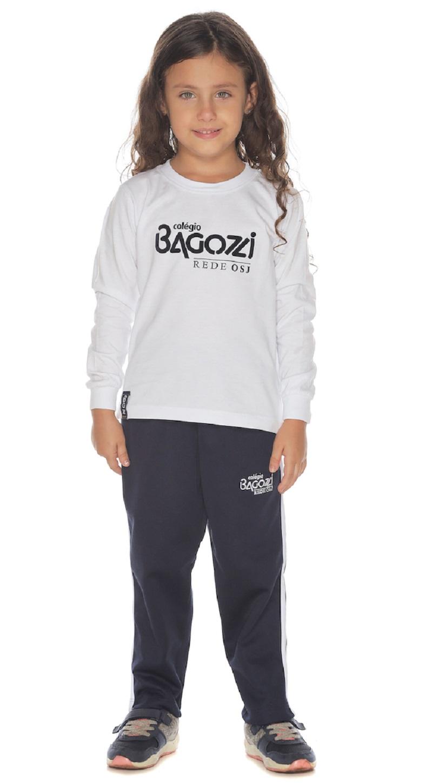 Calça Helanca Colégio Bagozzi
