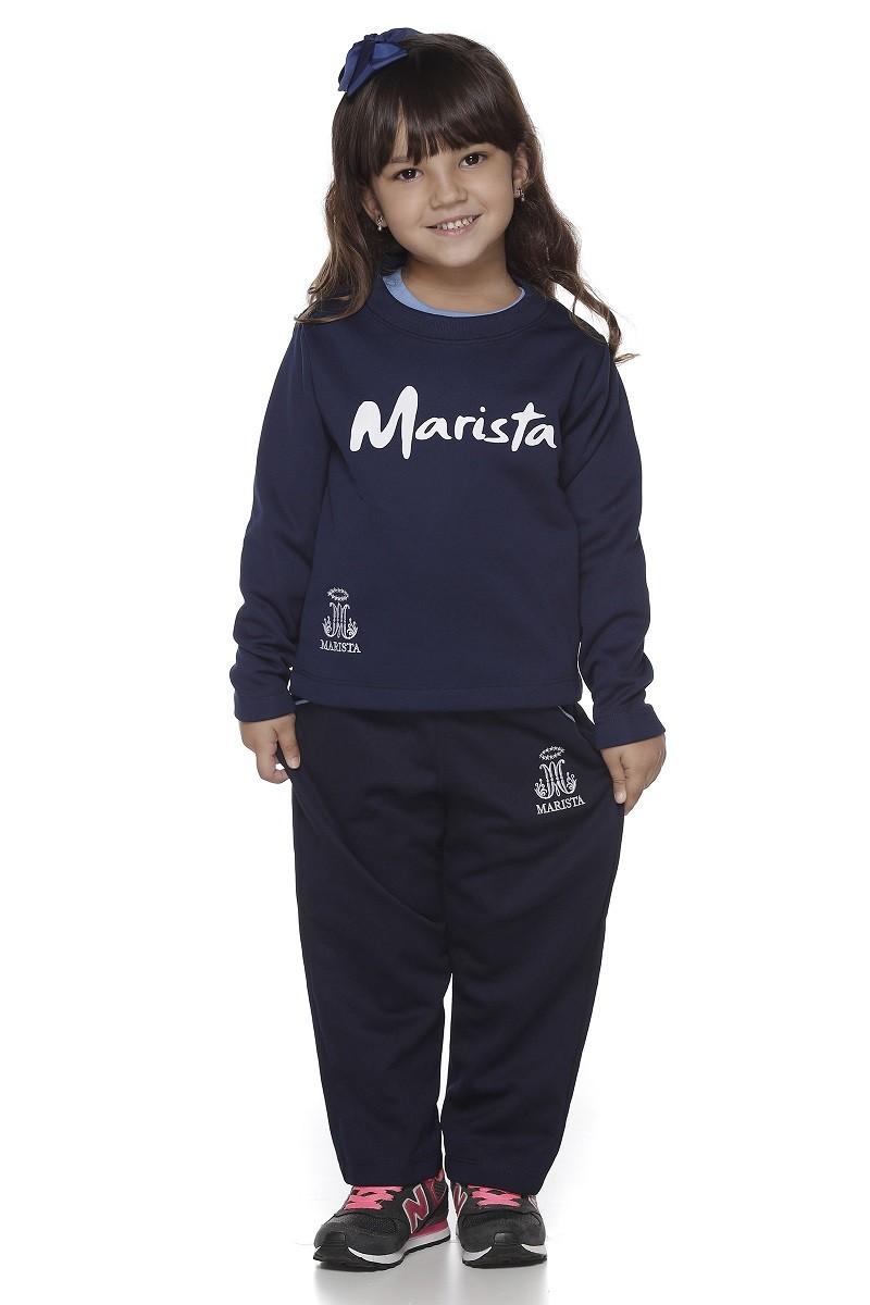 Calça Malha Colegial Feminina - Colégio Marista Infantil