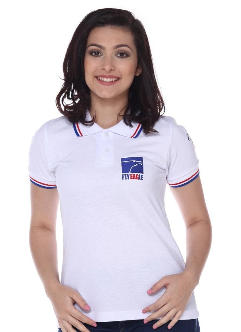 Camisa Gola Polo Feminina