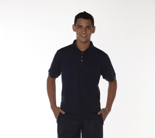 Camisa Gola Polo Marinho Piquet Masculina