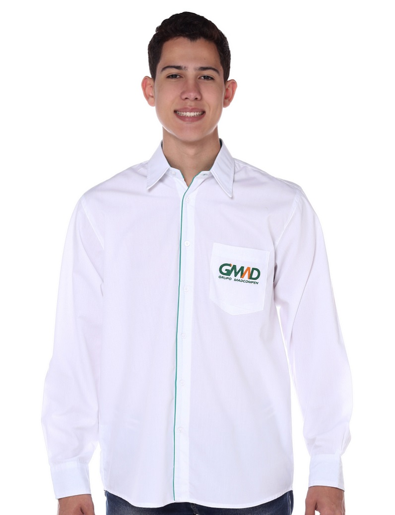 Camisa Social Manga Longa Masculino
