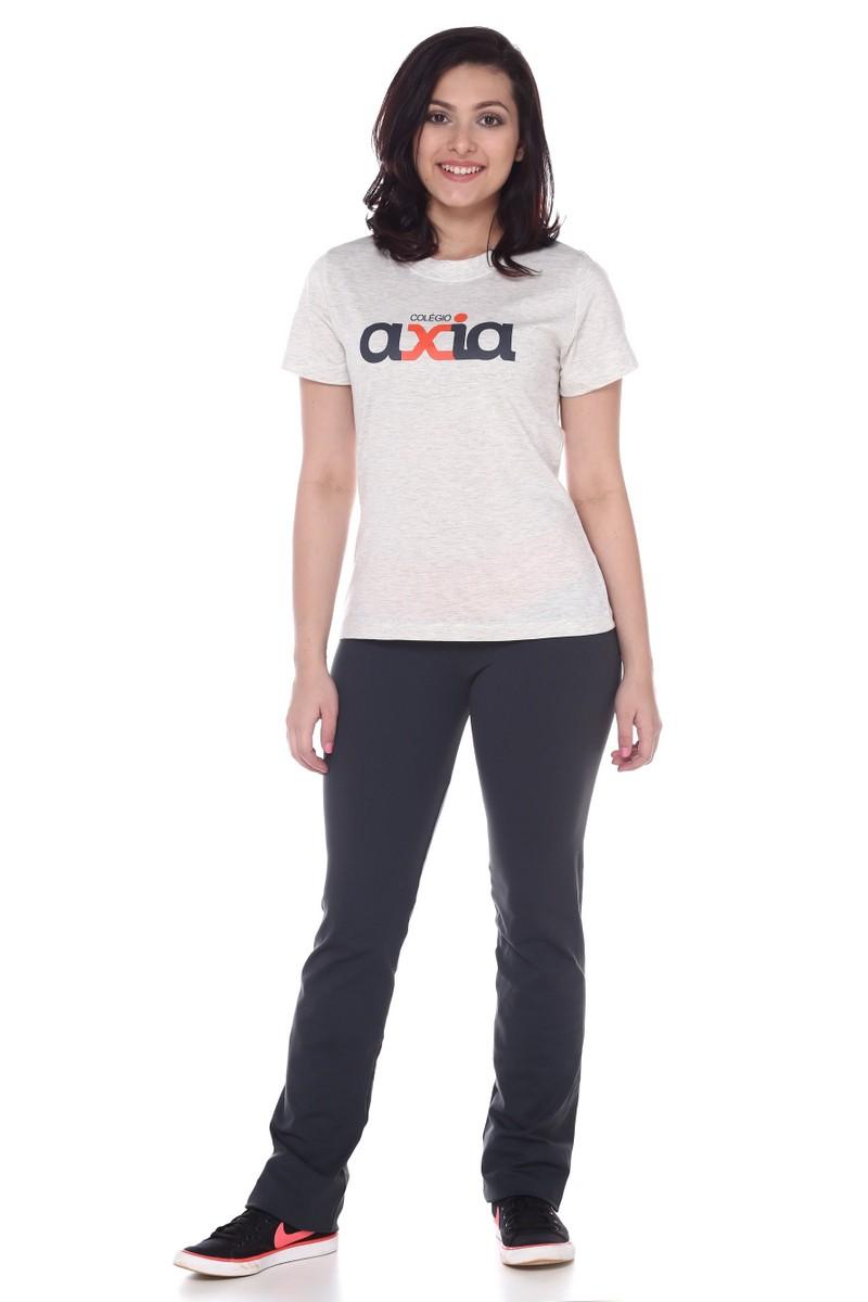 Camiseta Feminina Algodão Colégio Axia