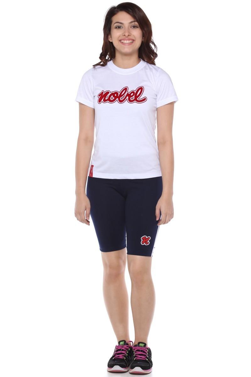 Camiseta Baby Look Malha PV Bilingue - Colégio Nobel
