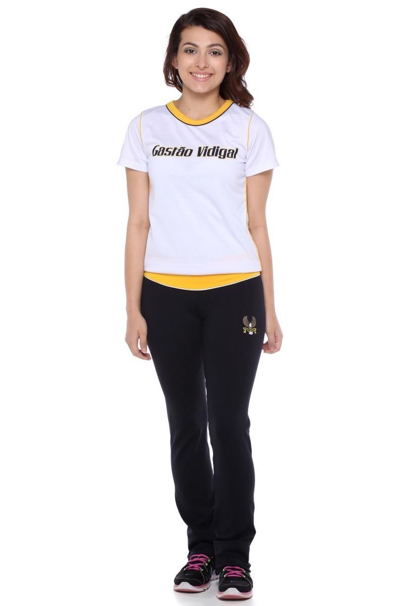 Camiseta Feminina Colégio Gastão Vidigal
