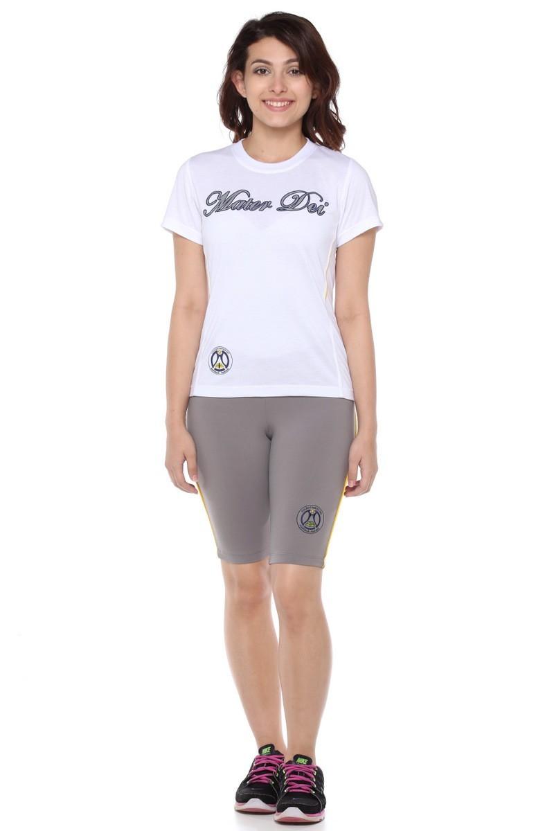 Camiseta Baby Look Malha PV - Colégio Mater Dei