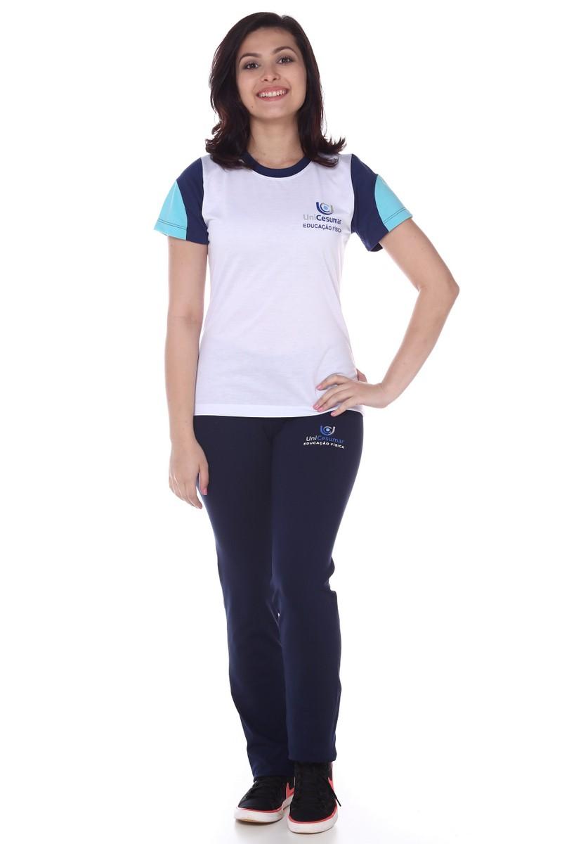 Camiseta Feminina Passeio Malha Fria Educação Física Unicesumar