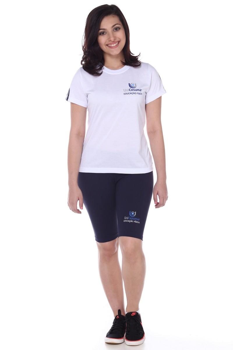 Camiseta Feminina Malha Fria Educação Física Unicesumar