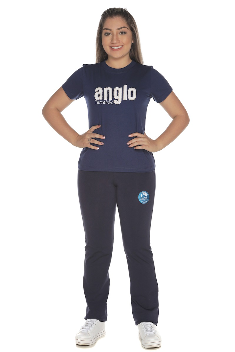 Camiseta Feminina Baby Look Terceirão Colégio Anglo