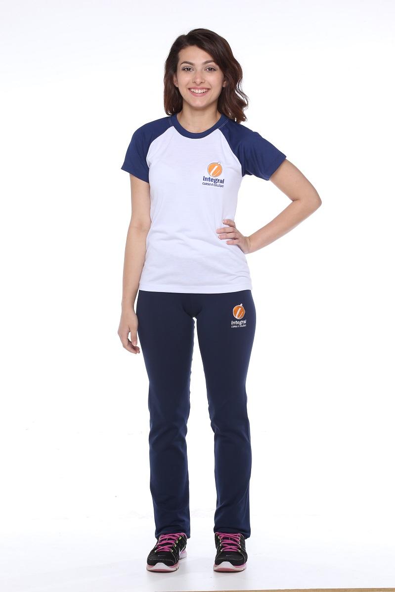 Camiseta Feminina Colégio Integral