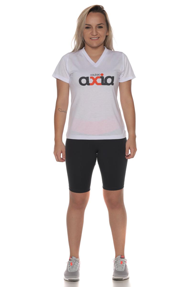 Camiseta Feminina PV Malha Fria Colégio Axia