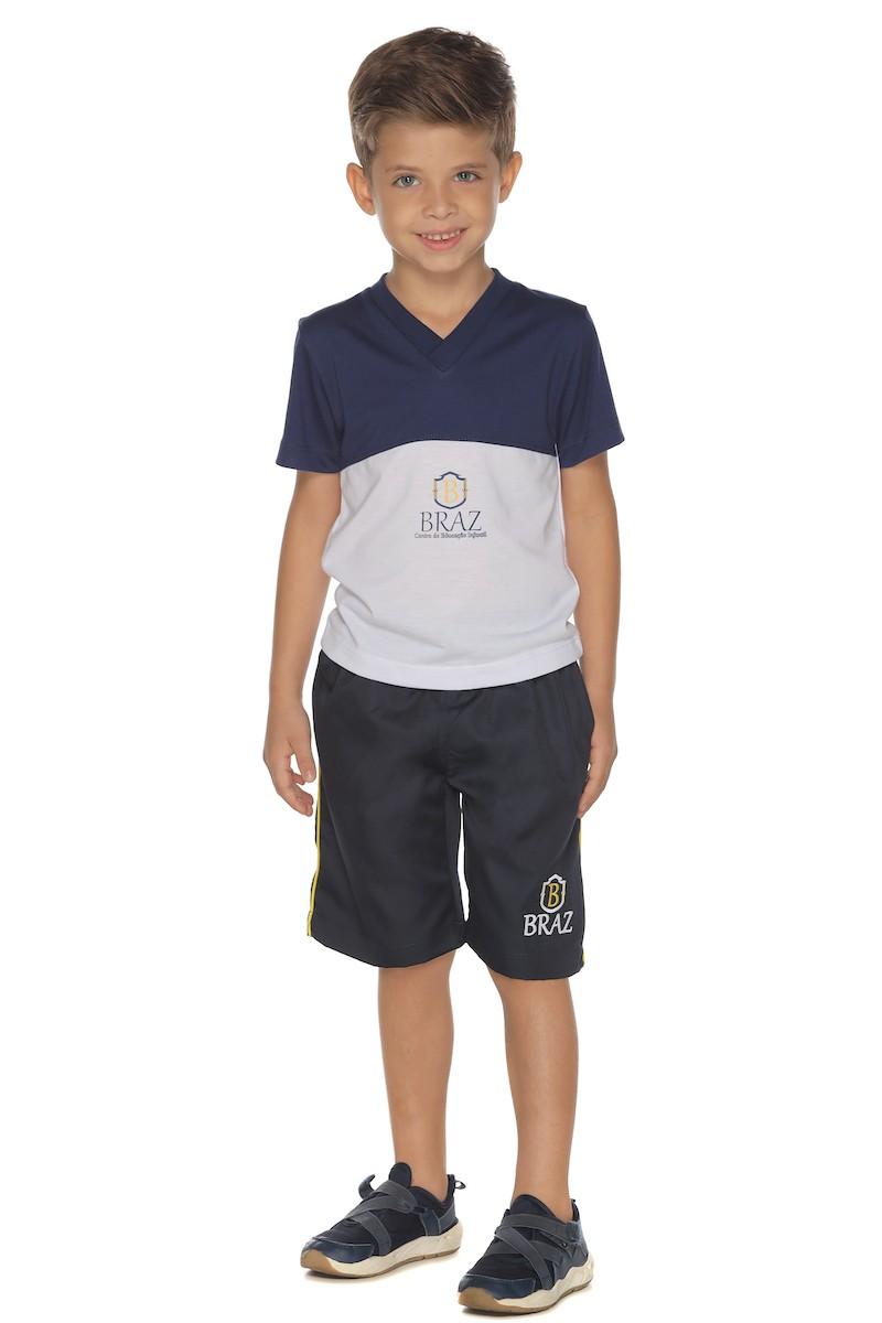 Camiseta Manga Curta Malha PV - Braz