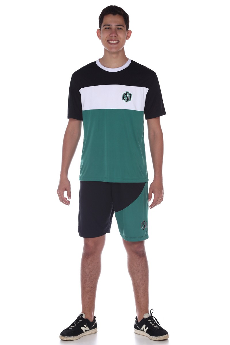 Camiseta Manga Curta Esporte Dry Fit - Colégio Santa Ana