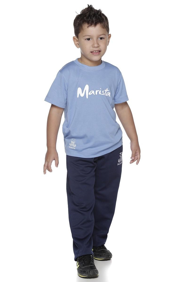 Camiseta Manga Curta Malha PV - Colégio Marista Infantil