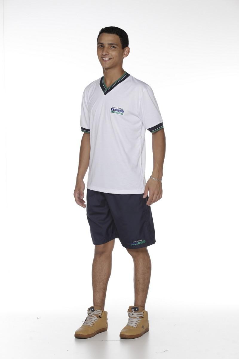 Camiseta Manga Curta Colégio Dom Bosco