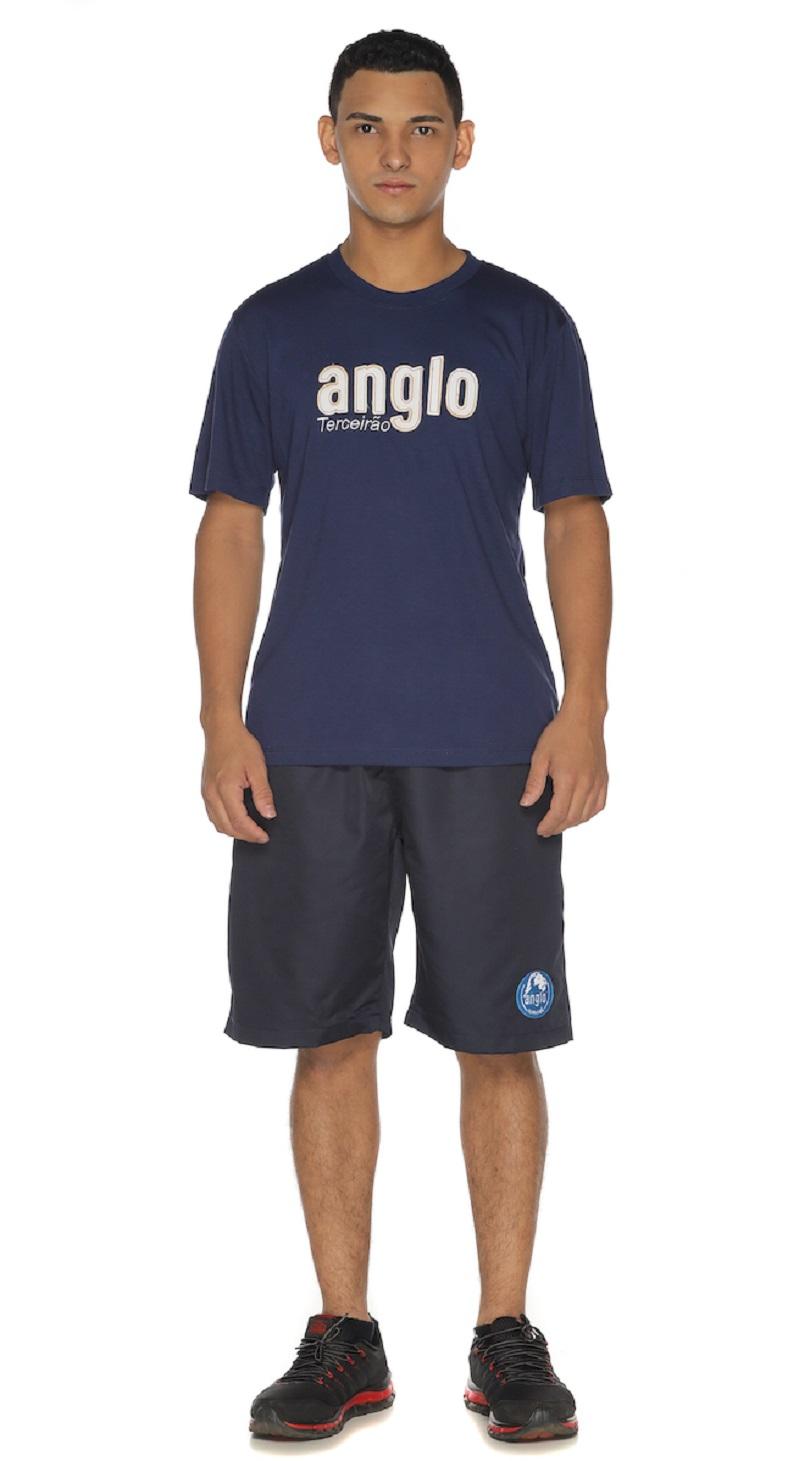 Camiseta Manga Curta Terceirão Colégio Anglo