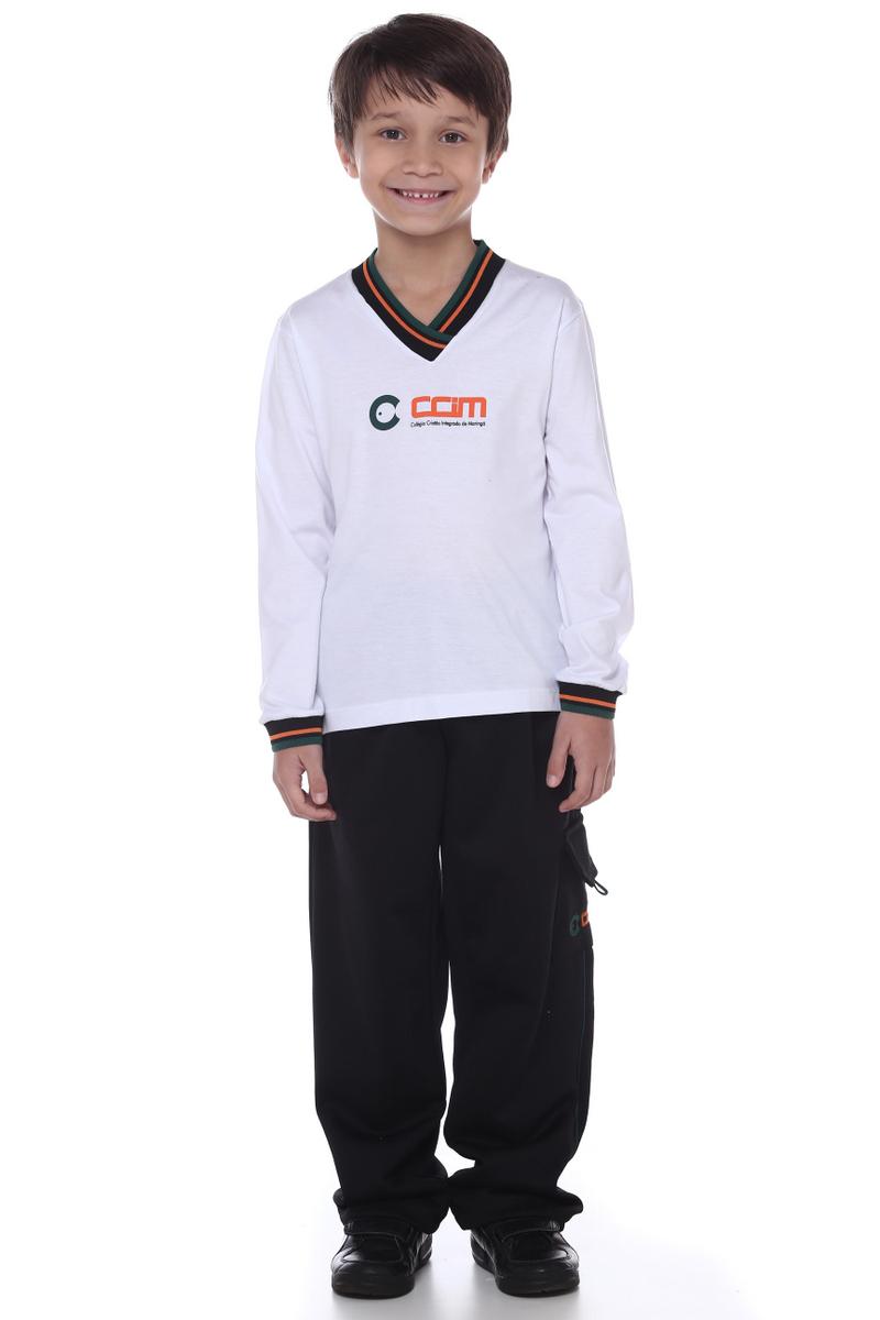 Camiseta Manga Longa Colégio CCIM