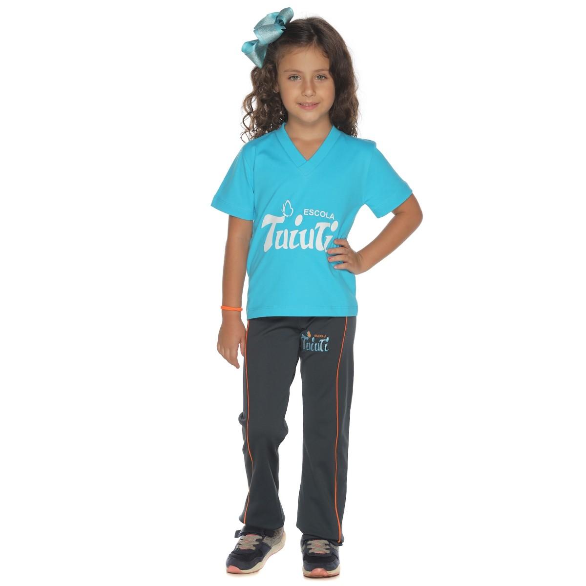 Camiseta Manga Curta Malha Algodão - Colégio Tuiuti