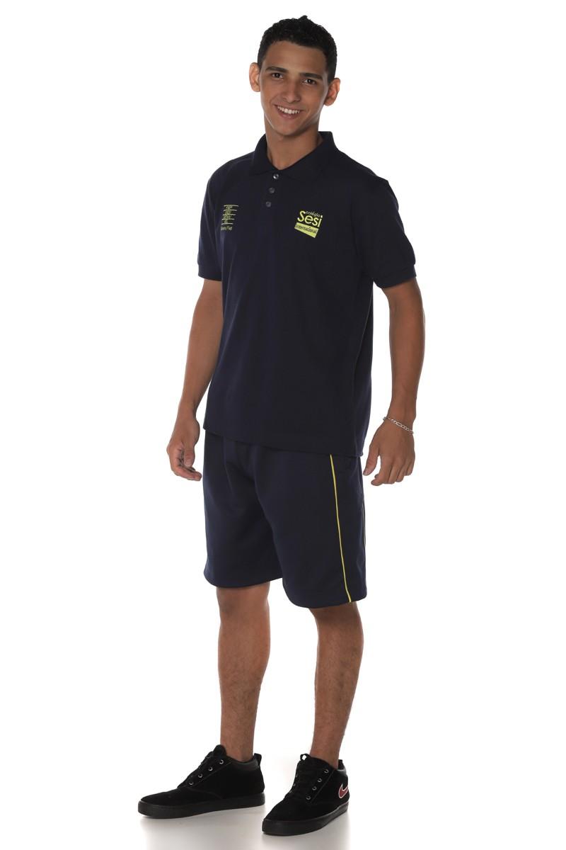 Camiseta Polo Piquet - Sesi Internacional