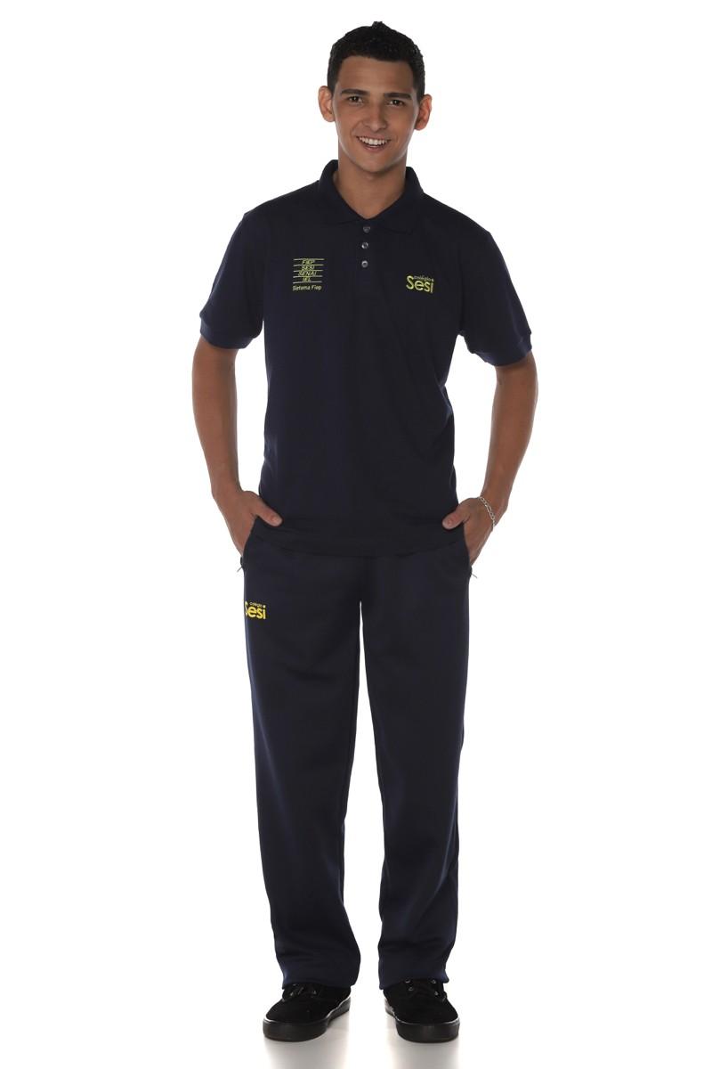 Camiseta Polo Piquet Sesi Regular