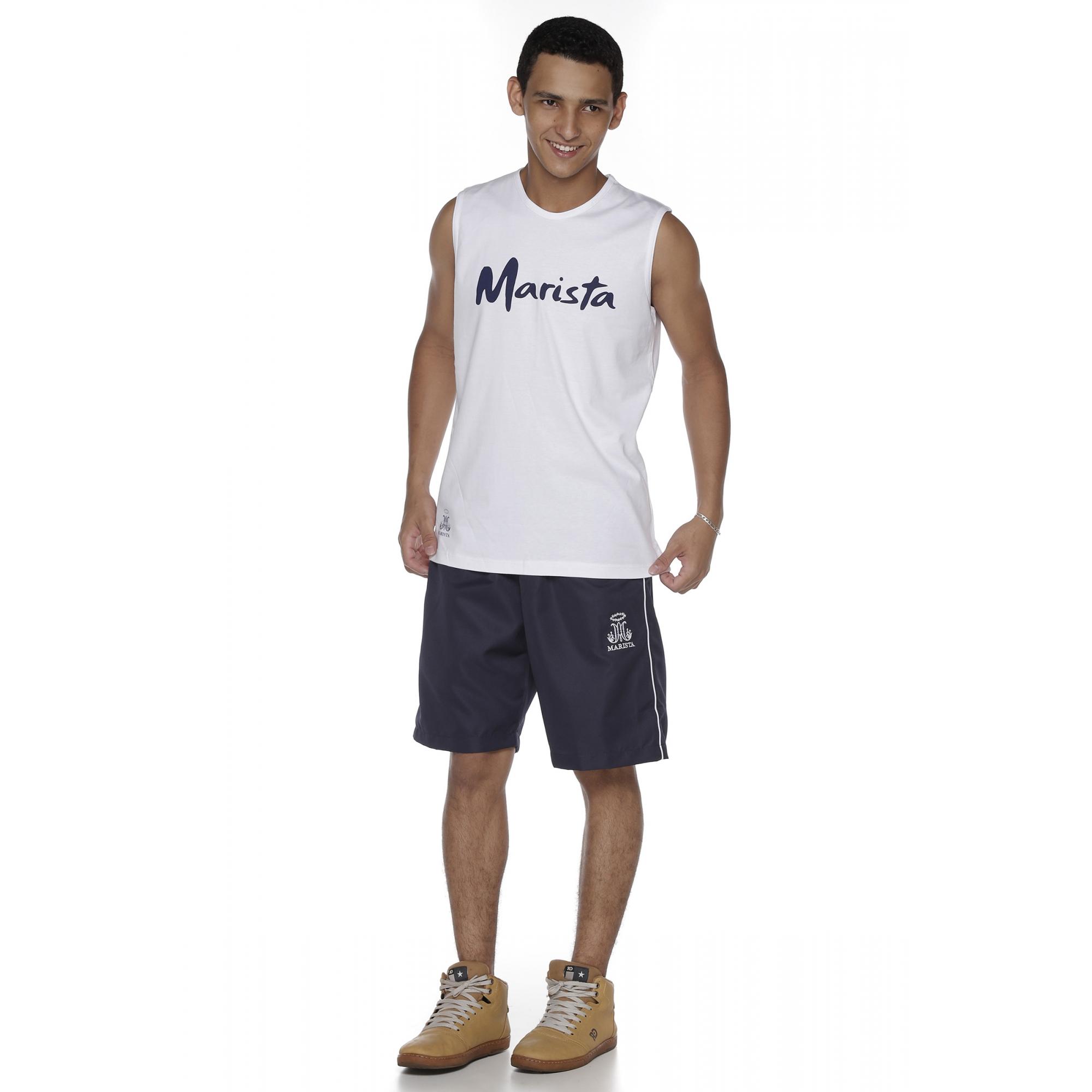 Camiseta Regata Masculina Colégio Marista