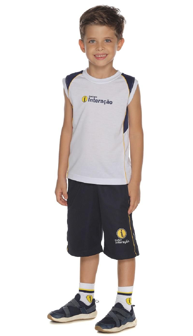 Camiseta Unissex Colégio Interação