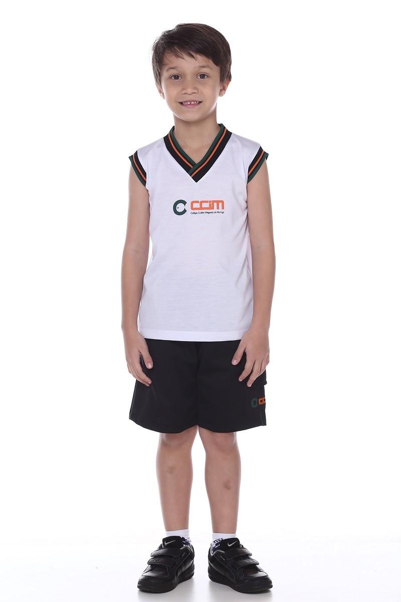 Camiseta Unissex Malha PV- Colégio CCIM