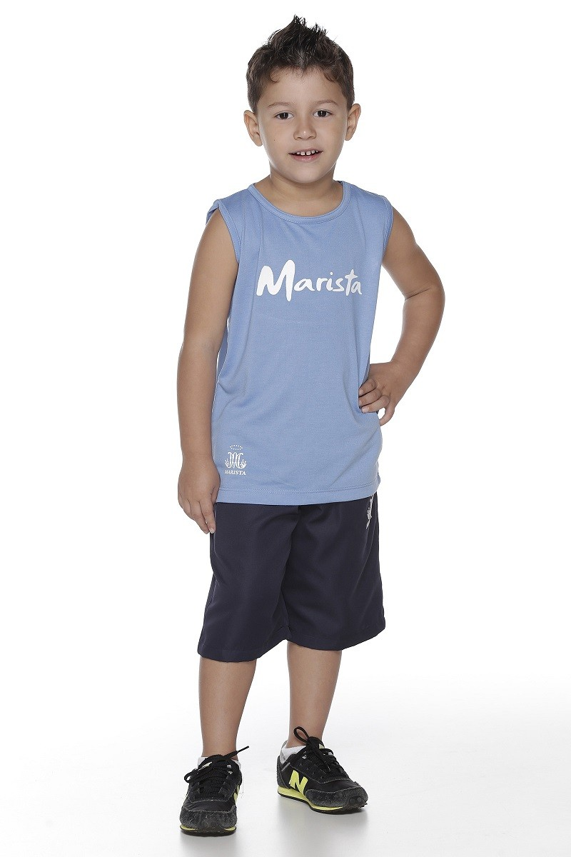 Camiseta Unissex Malha PV - Colégio Marista Infantil