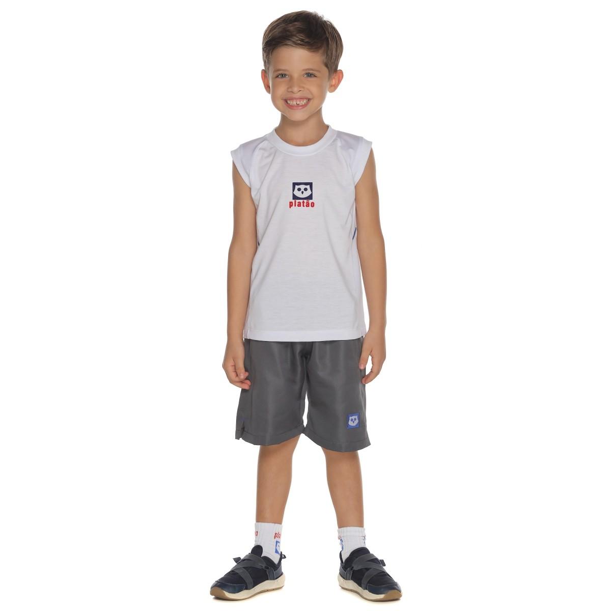 Camiseta Unissex Malha PV - Colégio Platão