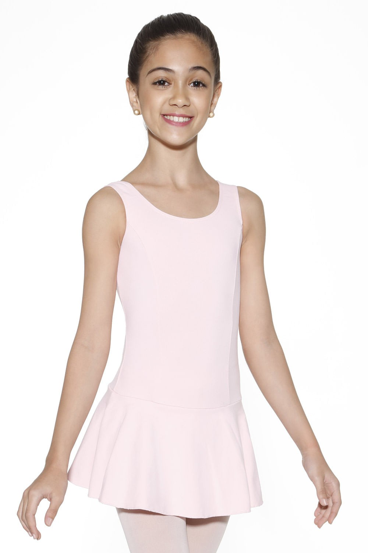 Collant de Ballet Regata Com Saia Rosa Feminino
