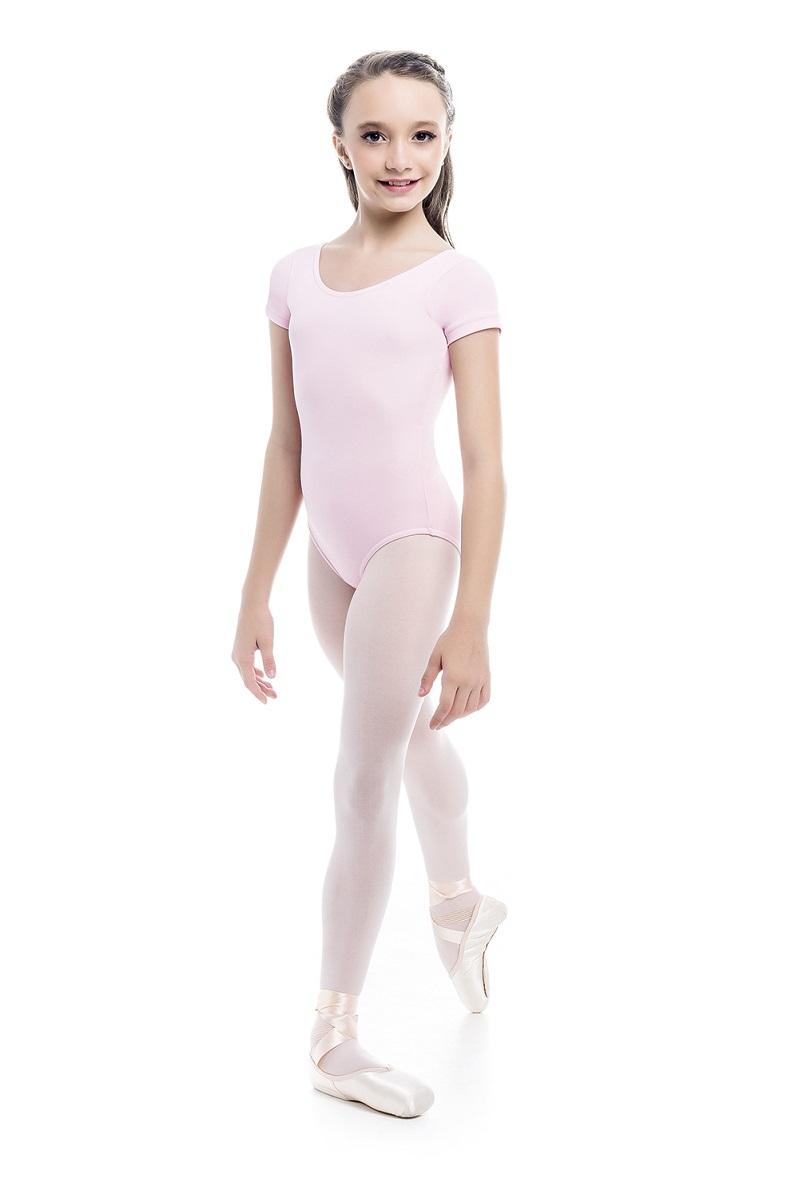 Collant Infantil Bailarina com Manga - A 007