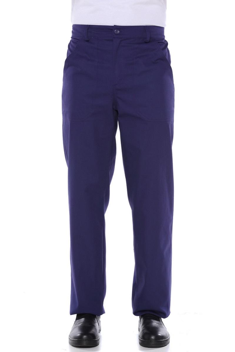 Calça Brim Masculina 1/2 elastico Marinho - Uniforme Operacional