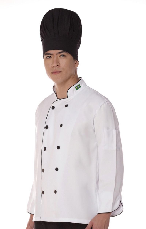 Dolma Chef Manga Longa Unissex
