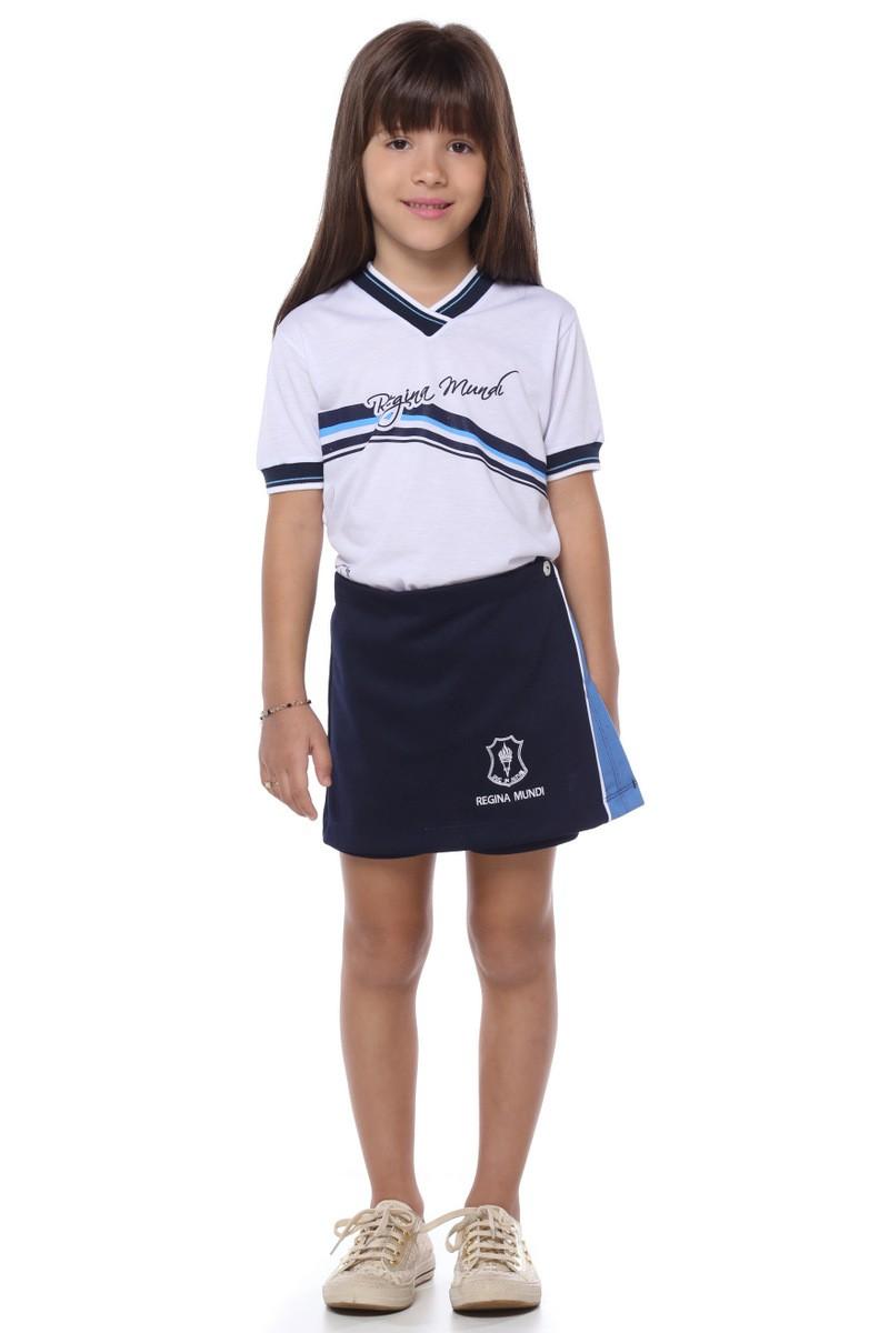 Short Saia Malha Colegial - Colégio Regina Mundi