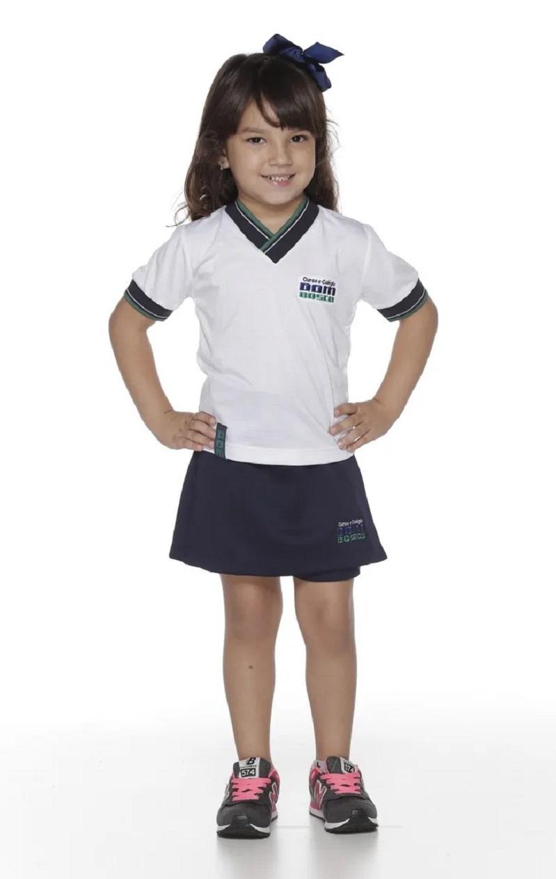 Shorts Saia Helanca Colégio Dom Bosco