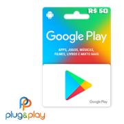 GIFT CARD GOOGLE PLAY R$ 60 REAIS