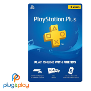 GIFT CARD PLAYSTATION STORE PSN PLUS 3 MESES R$ 70 REAIS
