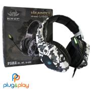 HEADSET KNUP GAMER KP-GA02 PC/PS4/ONE CAMUFLADO