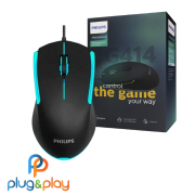 MOUSE PHILIPS SPK9414 GAMER COM FIO