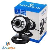 WEBCAM LEHMOX HD LEY-53 COM MICROFONE