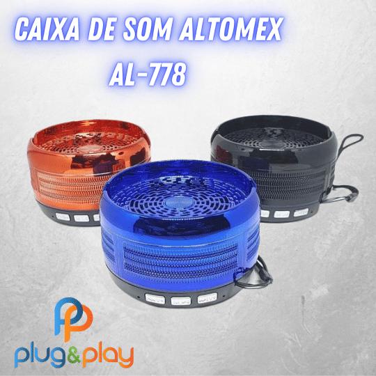 CAIXA DE SOM BLUETOOOTH  ALTOMEX AL - 778