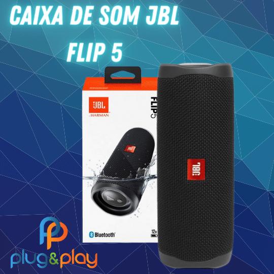 CAIXA DE SOM PORTATIL BLUETOOTH  JBL ORIGINAL FLIP 5 20W