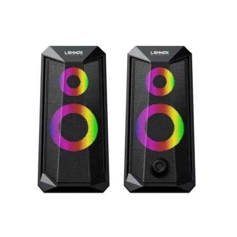 CAIXA DE SOM LEHMOX GT - S4 LED