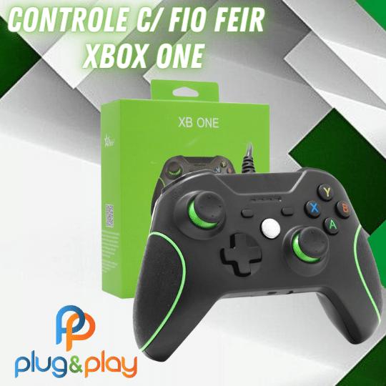 CONTROLE PARA XBOX ONE C/ FIO FEIR FR - 305