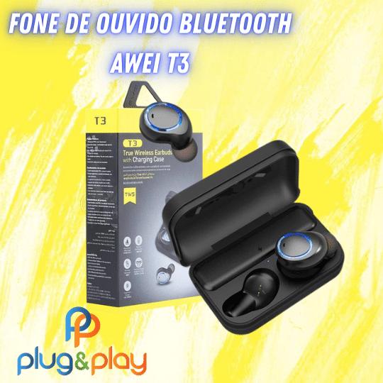 FONE DE OUVIDO BLUETO0TH AWEI T3