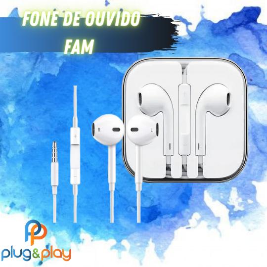 FONE DE OUVIDO AURICULAR FAM FCA - OE12