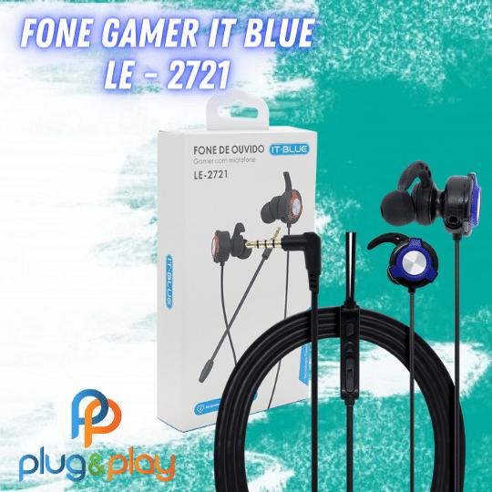 FONE DE OUVIDO GAMER IT-BLUE LE-2721
